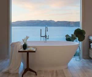 bathroom, bath, and home image