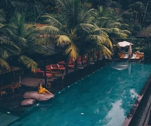 bali, travel, and indonesia image