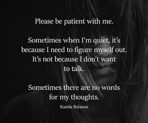 myself, patient, and quiet image