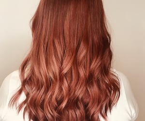 copper, hair, and hairstyle image