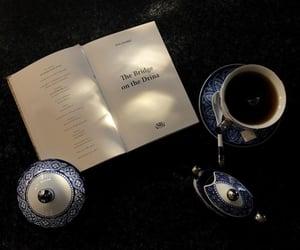 art, books, and coffee image