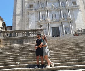 cathedral, cute, and couple image