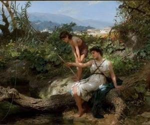 art, summer, and bucolic image