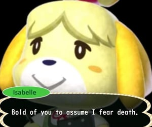 animal crossing, gaming, and isabelle image
