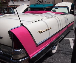 automobiles, cars, and pink image