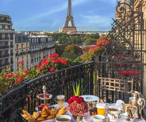 paris, aesthetic, and food image