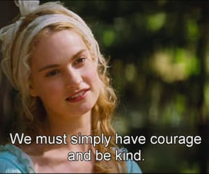 cinderella, courage, and movies image