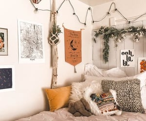 bedroom, decor, and aesthetic image
