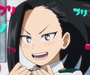 anime, momo yaoyorozu, and mha image