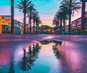 beach, california, and la image