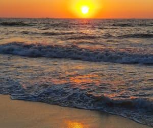 beach, egypt, and sea image
