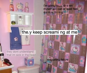 hello kitty, help, and lol image