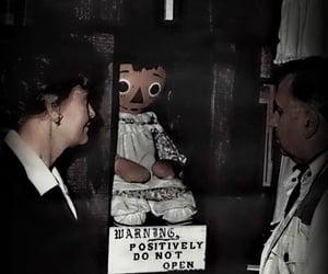 dark, horror, and annabelle image