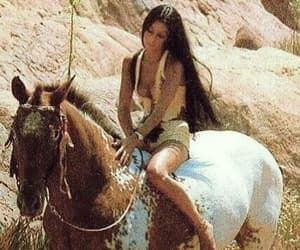 horse and cher image