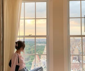 cities, new york city, and summer image