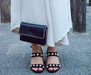 aesthetics, bag, and dress image