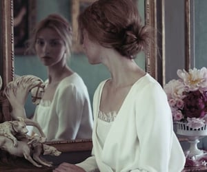 mirror, beauty, and vintage image