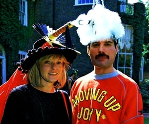Freddie Mercury, Queen, and mary austin image