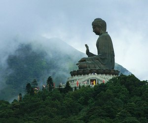 breathing, Buddha, and buddhism image