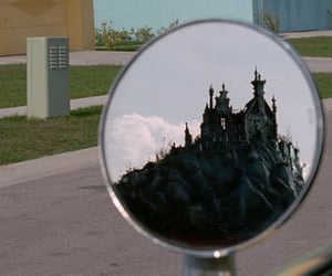 edward scissorhands, movie, and castle image