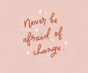 quotes, change, and pink image