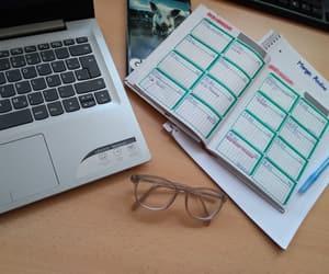bookworm, college, and nerd image