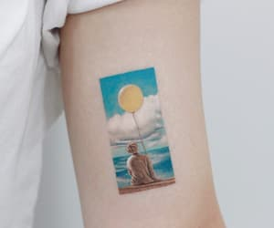 tattoo, bts, and serendipity image