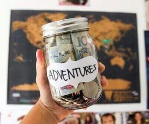 jar, money, and travel image