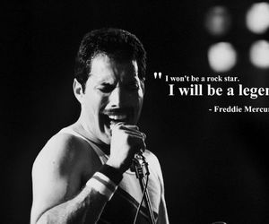legend, Queen, and Freddie Mercury image