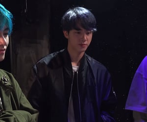 jin, bf, and bts image
