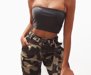 camo, outfit, and clothes image