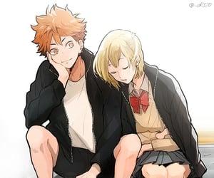 anime, manga, and karasuno image