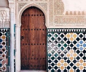 arab, arabic, and door image