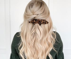 accessories, haircut, and blonde image