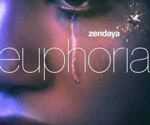 euphoria, hbo, and zendaya image