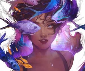 anime, girl power, and fanart ilustration image