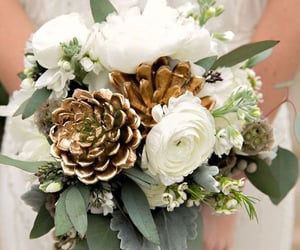 aesthetic, bouquet, and flower image
