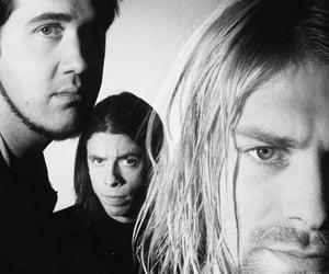 90s, kurt cobain, and dave grohl image