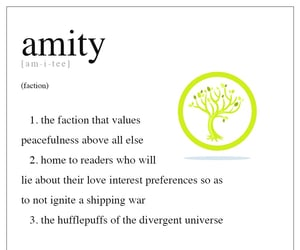 amity, divergent, and factions image