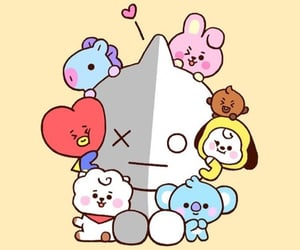 bt21, bts, and kpop image