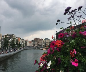amsterdam, beauty, and cloudy image