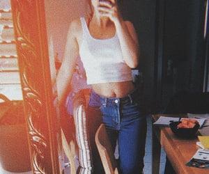 alternative, girl, and mirror image