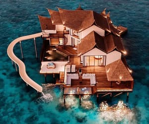 ocean, vacation, and villa image