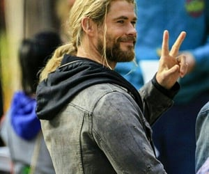Hot, thor, and chris hemsworth image