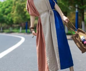 etsy, dresses for women, and maxi linen dress image