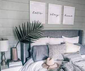 bedroom, style, and deco image