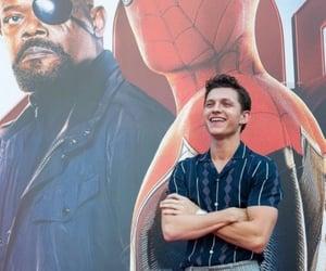 tom holland, Marvel, and spider man image