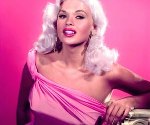 1950s, blonde bombshell, and 50sstyle image