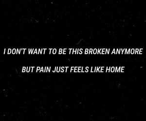 broken, dark, and deep image