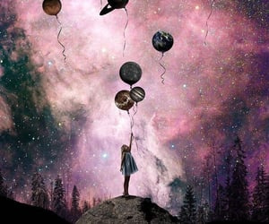 cosmic, night sky, and cosmic art image